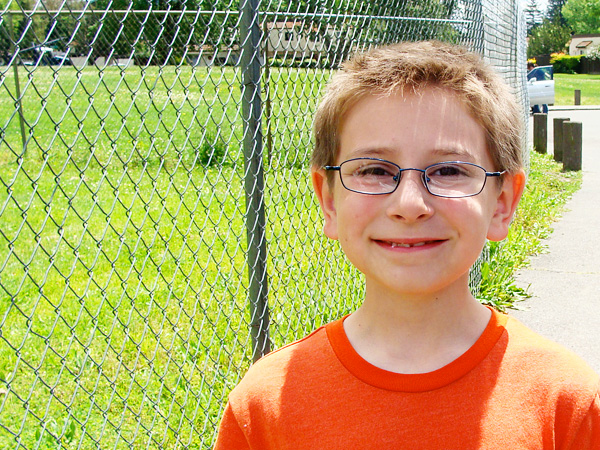 JT last day of 1st Grade