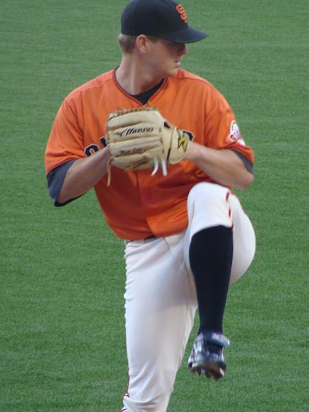 Matt Cain, Giants Pitcher May 28, 2010