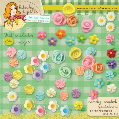 Kitschy Digitals Candy Coated Garden Kit